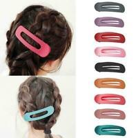 3pcs Peeling Matte Hair Clip Große Haarnadel Frauen Mädchen Haarspange Hair M4Z8