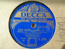 MILLION-AIRS - Ever Green Selection 78 rpm disc