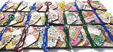 10 Pcs Wholesale Lot Designer Clutch Money Zari Purse Fashion Wedding Handmade