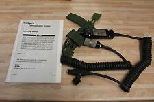 US ARMY me MSA communication Single comm système mbtir pays 5895-01-495-1605