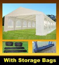 PE Party Tent 40'x16' - Heavy Duty Party Wedding Gazebo Shelter Carport - White