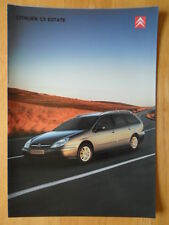 CITROEN C5 Estate 2003 UK Mkt sales brochure