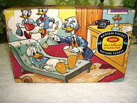 1961 Disney Donald Duck Puzzle in Box Dr Von Drake