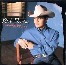 """RICK TREVINO, CD """"LEARNING AS YOU GO"""" NEW SEALED"""