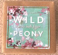 Asquith & Somerset Bath Fizzer Wild Peony Square 6.34 oz ~ New