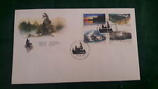 Canada- Canadian Parks- Fdc Stamps 1993- Set Of 2 Envelopes (8 stamps)