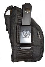 Gun Holster With Extra-Magazine Pouch For Glock 26,27,28,39 With Laser