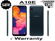 Samsung Galaxy A10E 32GB Black Unlocked Factory Unlocked T-Mobile Verizon AT&T
