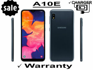Samsung Galaxy A10E 32GB Black Unlocked Factory Unlocked T-Mobile Verizon AT&T