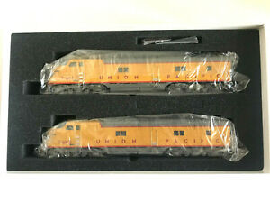 HO SCALE - BROADWAY LIMITED UNION PACIFIC E6 A-A SET #7-M-1 & 7-M-2 BOTH POWERED
