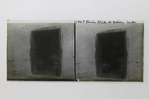 Tunis Notaire Arabe Tunisie Photo Plaque P9T7n14 Vintage Stereo