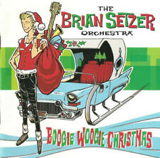 The Brian Setzer Orchestra CD Boogie Woogie Christmas (Stray Cats-Nr.Mint!)