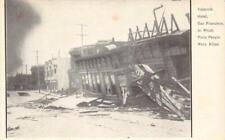 VALENCIA HOTEL San Francisco, CA 1906 Earthquake Vintage Postcard Antique