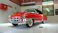 G LGB 1:24 Scale 1953 Cadillac Eldorado 22414 V Detailed Diecast Model Car Red