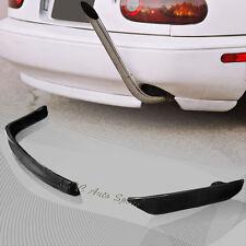 For Mazda Miata MX-5 RS-Style Black Polyurethane Rear Bumper Body Spoiler Lip