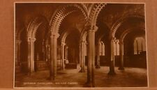 Unposted Postcard Durham Cathedral, Galilee Chapel Real photograph