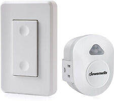 Wireless Wall Control Outlet Electrical Remote On Off Light Switch For Lamp