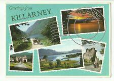 Greetings from Killarney, Ireland postcard