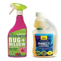 Hydroponics Insect Bug Control Mite killer Spray flowers plants herbs vegetables