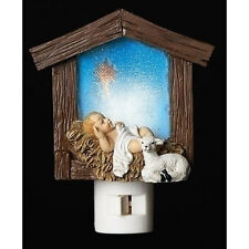 Roman Christmas Night Light - BABY JESUS in Manager - #RM-NL-C-164076