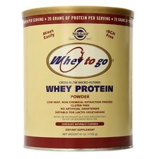 Solgar Whey To Go Whey Protein Powder Natural Chocolate Flavour 1162 g