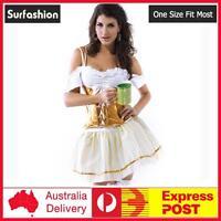Oktoberfest Bavarian Beer German Wench Maid Bar Girl Party Costume Fancy  #8558