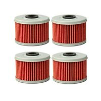 4* ATV Oil Filter For Honda TRX 200 250 300 350 400 420 450 500 Fourtrax Foreman