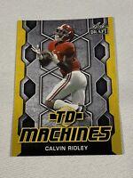 2018 Leaf Draft TD Machines TD-03 Gold Calvin Ridley Rookie Card RC