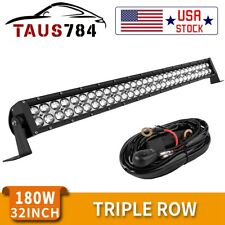 32inch 420W LED Work Light Bar Combo Driving Offroad Bumper Lamp Truck PK 30/34