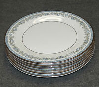 6 ROYAL DOULTON BONE CHINA STAMFORD H5040 DINNER PLATES, 10-5/8""