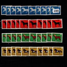 # 10X GERMANY - MNH - ANIMALS - HORSES - PONIES - WHOLESALE