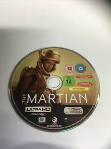 The Martian (4K Ultra HD, 2016) 4k UHD DISC ONLY.  MINT UNPLAYED condition.
