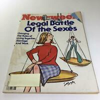 Newsweek Magazine: April 30 1979 - Legal Battle of the Sexes