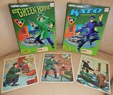 1998 Green Hornet And Kato Captain Action Sets And 1966 Green Hornet Puzzles (3)