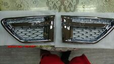 CHROMED 3D MESH SIDE FENDER VENT RANGE ROVER SPORT L320 SPORT MODEL 2010-2013