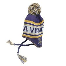 Minnesota Vikings NFL Kids Boys (4-7) One Size Fits Most Winter Hat Cap New