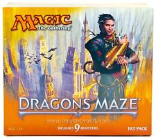 MTG MAGIC 1 FAT PACK DRAGON'S MAZE ANGLAIS