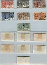 REGNO - 1926/28 - Sette valori serie completa(2A/7) - U