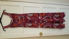 Principles maxi dress in purple & orange, size 8, new without tags