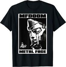 MF Doom Short Sleeve T Shirt Funny Black Cotton Tee Vintage Gift For Men Women