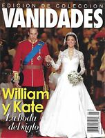 Vanidades Magazine Kate Middleton Prince William Royal Wedding Princess Diana