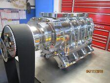 392 354 331 hemi 8-71 blower kit w hot heads manifold complete show polished 671