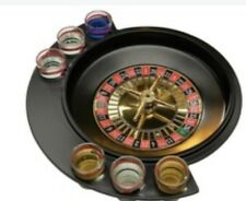 BRAND NEW Party Roulette Drinking Game Shot Glasses (9-Piece) Casino Bar barware