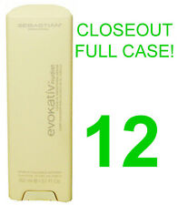 CLOSEOUT! 12 NEW SEBASTIAN EVOKATIV NUDIST LEAVE-IN SMOOTHING HAIR TREATMENT