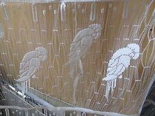 rideaux neuf avec des perroquets L 60 cm vendu par tranche de 23 cm