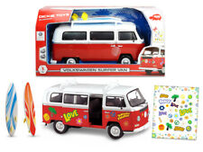 Dickie Toys 203776001 Retro VW Surfer Camper Van With Friction Drive 32 Centimet