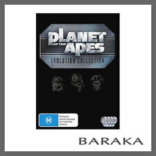 THE PLANET OF THE APES 1-7 movies Evolution Collection DVD Box set R4 New