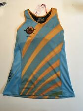 Coeur Tri Top With Built In Sports Bra Large Blue/Orange
