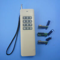 12CH Wireless Transceiver Codec RF Remote Control Module SC2262 SC2272 Arduino