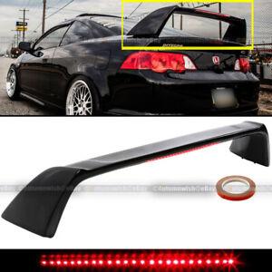 For 02-06 Acura RSX DC5 Primed TR Type-R Rear Trunk Spoiler LED 3rd Brake Light